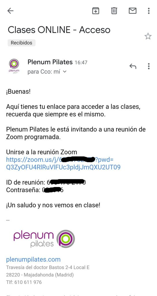 mail acceso